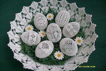 Crochet Eggs / Eggs