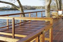 outside decking space