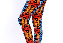 """Peachskin print leggings, one size"""