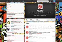 Twitter Backgrounds / Raccolta di ispirazioni e immagini per gli sfondi di Twitter