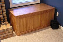Indoor Firewood Box