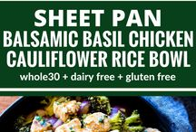 One Pan/ One Pot Meals