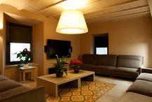SALA D'ESTAR / Espai conjunt tipus sala d'estar de la casa rural Cal Miqueló.