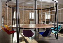 Miejsce spotkań w biurze