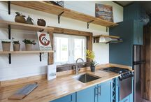 Tiny Houses with Tiny Spaces