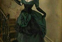 gothic/ period fashion