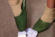 Weird Shoes / Saw 'em, had to save 'em to a board / by Belinda Willis