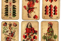Vintage Playing Cards / Vintage regional Tarot and Playing cards.  / by Mike Haas