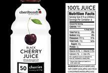 Black Cherry Juice! / Brand new product available in Walmart Supercenters!  / by cheribundi