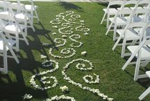 Flowers Down the Aisle
