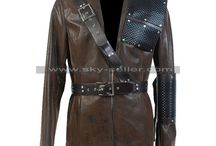 Arrow Malcolm Merlyn Brown Leather Jacket / Get this stylish Dark Archer Arrow Costume from Sky-Seller at most discounted price from Sky-Seller and avail free Shipping