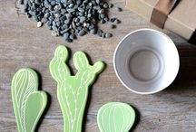 cactus de ceramica