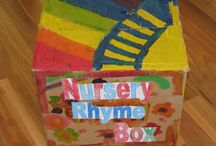 Nursery Rhymes / All Things Nursery Rhymes. Mother Goose and the like. / by Rachée Fagg