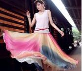 Long Skirts / Fashion71 skirts are very popular and hot sale in recent years. Retro long skirts, flowing long chiffon skirts, and other more kinds of long skirts all can be found here.