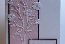 Carterie - Avec les dies Memory Box / Cartes réalisées avec des Dies de la marque Memory Box et une machine de coupe.