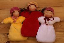 Waldorf doll making