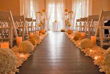 Inspiração casamento no salão de festas / Inspirações de casamento no salão de festas