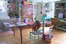 spaces to create / a collection of beautiful artists studios ♥ / by Tracy Verdugo