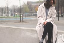 Oversize winter coats
