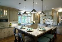 kitchen layout / by Annie Teems