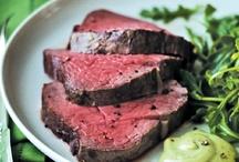牛肉ステーキローストビーフ