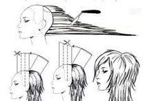 Схема стрижек