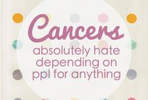 Cancer zodiac / Sayings / by Adele Mainville