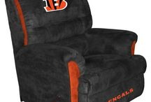 Cincinnati Bengals Room & (wo)Man Cave / Cincinnati Bengals Room & (wo)Man Cave - Pictures, Ideas, & Fun Products / Merchandise