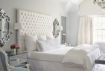 White Bedrooms / White bedrooms in a variety of styles, from modern to rustic.