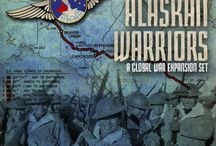 Global War 1936 Expansion -Alaskan Warriors / Alaska was an important but often forgotten theatre of World War II. Alaska was a major air hub for lend-lease aircraft ferried to Russia through the Northwest Air Staging Route (ALSIB). American war planners saw the importance of Alaska and – in response to mounting Japanese aggression – began building a chain of bases in Alaska during the 1930s.