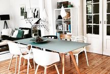 Dining Room Design and Decor / Interior Design, Home Design, Home Decor, Dining Room Wall Art, Modern Minimalist Decor, Scandinavian Style, Nordic Design, Boho Home, Zen Living, Light-Filled Spaces