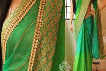 Saari and Blouse Stitching ideas
