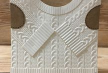 Stampin UP Cable Knit Embossing Folder