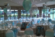 Wedding balloons and centrepieces / Elegant, colourful, quirky? We can design something just for you! www.missymooballoons.co.uk