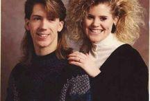 Волосы в стиле 80-х