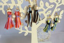 mbutterfly accessories / Handmade accessories for people don't have any hole on ears.