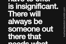 Wise Quotes / gurus speak about life, business, crisis etc