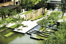 Water in landscape architecture