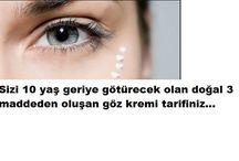 göz kremi