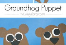 Groundhog Day Goodies / This board is a collection of Groundhog Day goodies that range from crafts to treats.