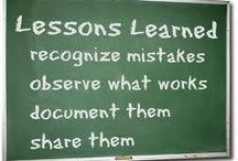 Lessons Learned ~ Experienced Favorites / Experienced Favorites: Take on the meaning of life, and living...