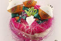Мини Букет Ля Гуш / Мини Букет Ля Гуш - прекрасный выбор в качестве подарка на любое торжество! На долгие годы сохранит память о прекрасном событии и займет достойное место в интерьере дома и офиса!