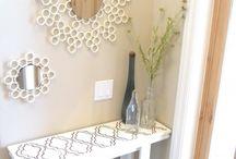 Canos de PVC no décor / Criatividade é a lei na hora de aproveitar os canos de PVC em todos os ambientes da casa! Inspire-se  / by Casa e Jardim