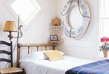 Marine style bedroom