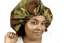 Ankara & Satin Bonnets XL /  While you and your hair are getting beauty sleep, luxuriate in one of our ankara and satin bonnets , as it locks in moisture, reduces frizz and protects your hair from damage.