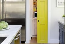 Pop of Color / Great examples of pops of color in design, home, and accessories