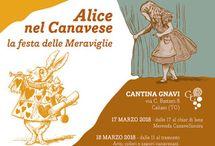 Alice nel Canavese, la festa delle Meraviglie 17-18 Marzo Caluso (TO)