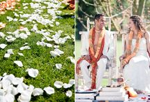 Indian wedding / Indian's wedding are so grand! I love the traditions and ceremony + the colors and enthusiasm! Please browse these few Indian weddings and get inspired!