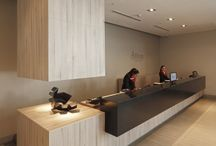 Deuce / Reception desk concepts.