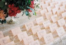 Table Inspiration | Escort Card Table